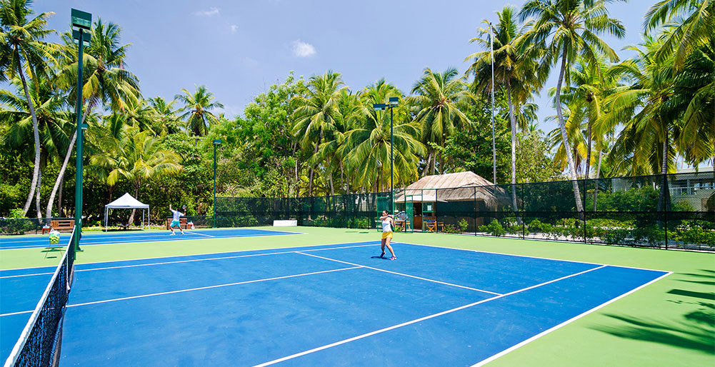 The Amilla Villa Estate - Tennis for everyone